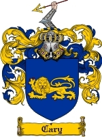 Primary image for Cary Family Crest / Coat of Arms JPG or PDF Image Download