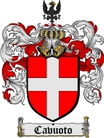 Primary image for Cavuoto Family Crest / Coat of Arms JPG or PDF Image Download
