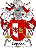 Primary image for Cepeda Family Crest / Coat of Arms JPG or PDF Image Download