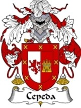 Cepeda Family Crest / Coat of Arms JPG or PDF Image Download - $6.99