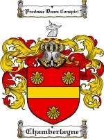 Primary image for Chamberlayne Family Crest / Coat of Arms JPG or PDF Image Download