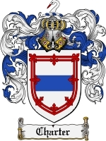 Primary image for Charter Family Crest / Coat of Arms JPG or PDF Image Download