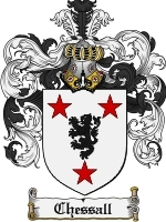 Primary image for Chessall Family Crest / Coat of Arms JPG or PDF Image Download