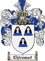 Primary image for Chirnseed Family Crest / Coat of Arms JPG or PDF Image Download