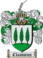 Primary image for Claassens Family Crest / Coat of Arms JPG or PDF Image Download