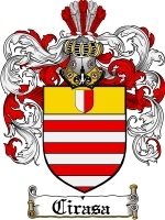 Primary image for Cirasa Family Crest / Coat of Arms JPG or PDF Image Download