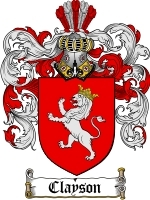 Clayson coat of arms download