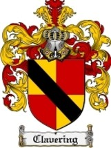Clavering Family Crest / Coat of Arms JPG or PDF Image Download - $6.99