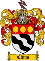 Climo Family Crest / Coat of Arms JPG or PDF Image Download