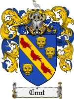 Cnut Family Crest / Coat of Arms JPG or PDF Image Download