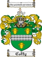 Primary image for Coffy Family Crest / Coat of Arms JPG or PDF Image Download
