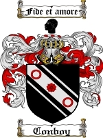 Conboy Family Crest / Coat of Arms JPG or PDF Image Download