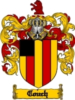 Primary image for Couch Family Crest / Coat of Arms JPG or PDF Image Download