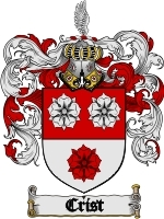 Crist Family Crest / Coat of Arms JPG or PDF Image Download