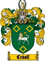 Primary image for Croall Family Crest / Coat of Arms JPG or PDF Image Download