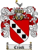 Primary image for Crook Family Crest / Coat of Arms JPG or PDF Image Download