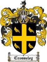 Primary image for Crosseley Family Crest / Coat of Arms JPG or PDF Image Download