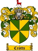 Primary image for Crotts Family Crest / Coat of Arms JPG or PDF Image Download
