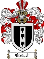 Primary image for Crowch Family Crest / Coat of Arms JPG or PDF Image Download