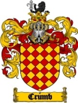 Crumb Family Crest / Coat of Arms JPG or PDF Image Download - $6.99