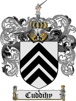 Primary image for Cuddihy Family Crest / Coat of Arms JPG or PDF Image Download