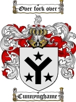 Primary image for Cunnynghame Family Crest / Coat of Arms JPG or PDF Image Download