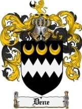 Dene Family Crest / Coat of Arms JPG or PDF Image Download - $6.99