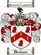 Denman Family Crest / Coat of Arms JPG or PDF Image Download - $6.99