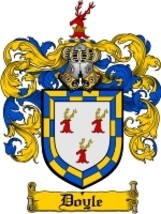 Doyle Family Crest / Coat of Arms JPG or PDF Image Download - $6.99