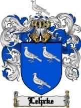 Lehrke Family Crest / Coat of Arms JPG or PDF Image Download - $6.99
