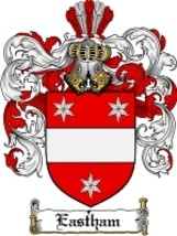 Eastham Family Crest / Coat of Arms JPG or PDF Image Download - $6.99