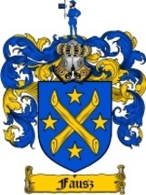 Fausz Family Crest / Coat of Arms JPG or PDF Image Download - $6.99