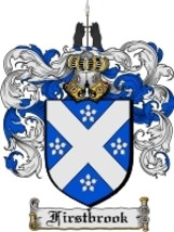Firstbrook Family Crest / Coat of Arms JPG or PDF Image Download - $6.99