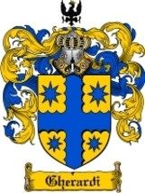 Gherardi Family Crest / Coat of Arms JPG or PDF Image Download - $6.99