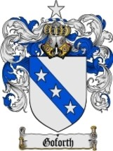 Goforth Family Crest / Coat of Arms JPG or PDF Image Download - $6.99