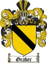 Graber Family Crest / Coat of Arms JPG or PDF Image Download - $6.99
