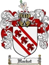 Hacket Family Crest / Coat of Arms JPG or PDF Image Download - $6.99