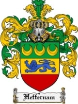 Heffernam Family Crest / Coat of Arms JPG or PDF Image Download - $6.99