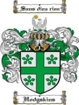 Hodgskins Family Crest / Coat of Arms JPG or PDF Image Download - $6.99