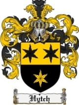 Hytch Family Crest / Coat of Arms JPG or PDF Image Download - $6.99