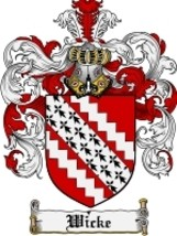 Wicke Family Crest / Coat of Arms JPG or PDF Image Download - $6.99