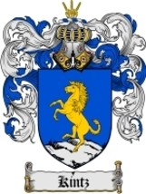 Kintz Family Crest / Coat of Arms JPG or PDF Image Download - $6.99