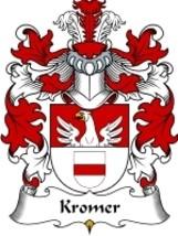 Kromer Family Crest / Coat of Arms JPG or PDF Image Download - $6.99