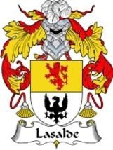 Lasalde Family Crest / Coat of Arms JPG or PDF Image Download - $6.99