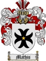 Mathis Family Crest / Coat of Arms JPG or PDF Image Download - $6.99