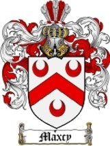 Maxcy Family Crest / Coat of Arms JPG or PDF Image Download - $6.99