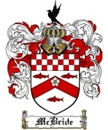 Mcbride Family Crest / Coat of Arms JPG or PDF Image Download - $6.99