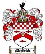 Mcbride Family Crest / Coat of Arms JPG or PDF ... - $6.99