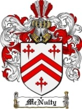 Mcnulty Family Crest / Coat of Arms JPG or PDF Image Download - $6.99