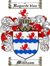 Millican Family Crest / Coat of Arms JPG or PDF Image Download - $6.99